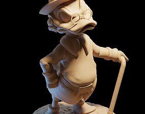 Scrooge Mcduck 3D print model
