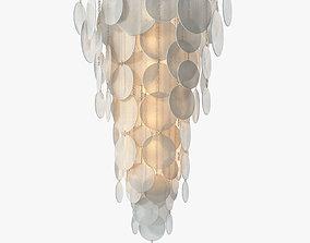 3D model CTO Lighting Nimbus Cascade Chandelier