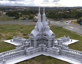 Victorian architecture Ornate grave 3 3D