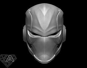 3D printable model protection Ronin warrior helmet