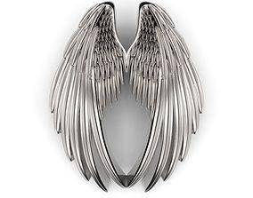 Double Wings Pendant 3D print model