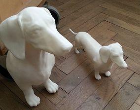 Dachshund - 3D printable - high detail