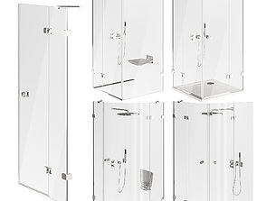 3D Ravak Brilliant Shower Cabin