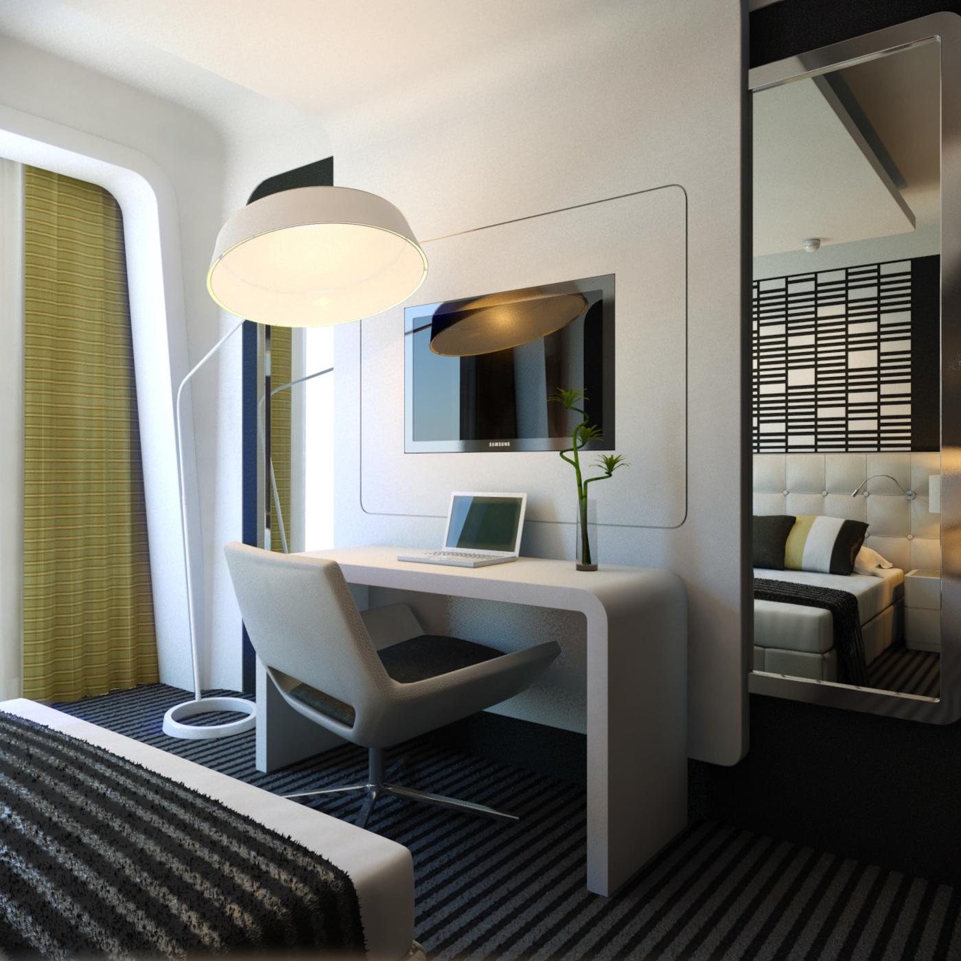 Smart Hotel Airport Room