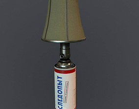 Gas Lamp 3D model low-poly
