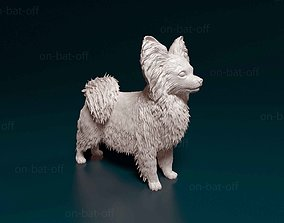3D print model Papillon dog