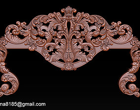 luxury Classic Bed 3D relief models