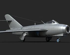 3D model mig-17