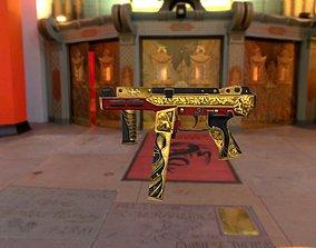 M4-sp-double-tenth-day Gun-weapon model realtime