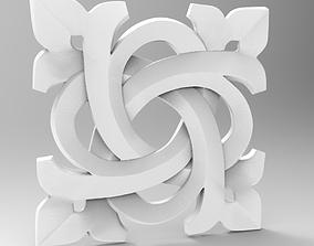 3d STL OBJ models for CNC Carved rosette
