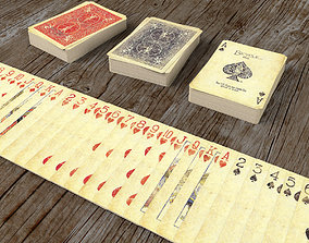 3D asset Playing Cards SERIES 1800 - Poker Card Set 3 - 1