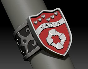 Ring Varia Fran Katekyo Hitman Reborn 3D print model
