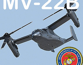 US Marine Corps MV-22B Osprey MAX 3DS