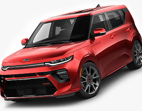 Kia Soul 2020 GT-line 3D model