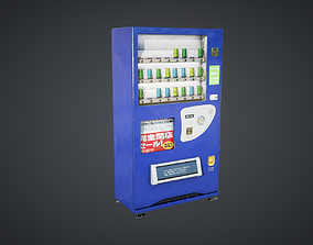 3D model realtime Vending Machine