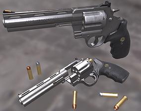 Colt Anaconda 44 Magnum 3D asset