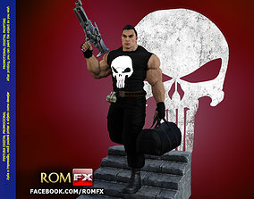 The Punisher - Action Figure - Diorama Printable