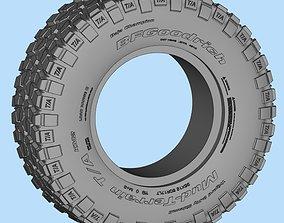 BFGoodrich Mud-Terrain KM2 3D