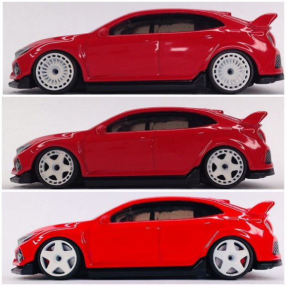Hot Wheels 9mm rims with brakes and 11mm tires.