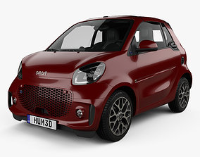 3D Smart ForTwo EQ Prime cabriolet 2020