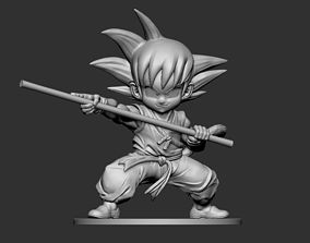 Son Goku Fan Art for 3DPrint
