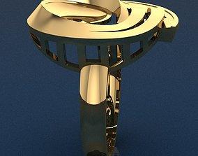 3D print model pandant Ring 13