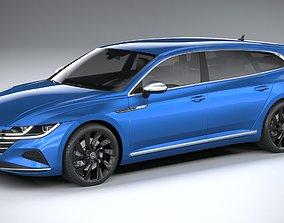 3D Volkswagen Arteon Shooting Brake Elegance 2021