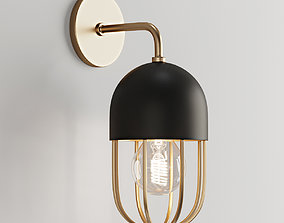 Capsule Cage Sconce 3D model