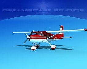 Cessna 172 Skyhawk 1958 V05 3D model