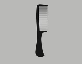 3D asset Comb Low Poly