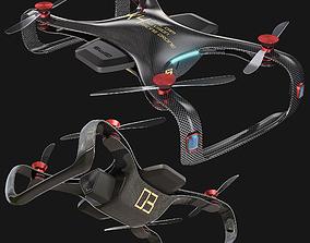 Dual Cam Racing Drone 3D model