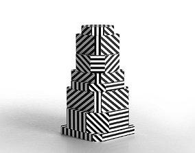 Ziggurat Containers 3D model