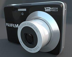 Fuji av 100 Digital Camera 3D