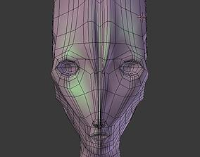 3D model Assassin Bot BASE MESH
