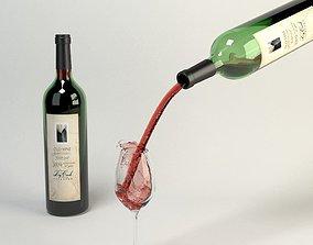Zinfandel Exuberant Pour 3D