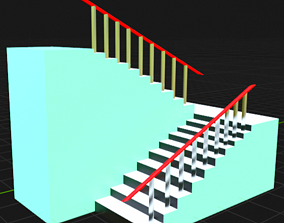 3D print model ladder