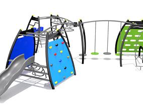 Playground - Climber Challenge 3D model VR / AR ready