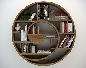 3D model Circular Bookshelf