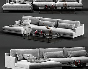 POLIFORM BELLPORT Corner Sofa 3D furniture