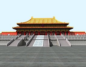 The Forbidden City -- Three Big Place 3D model