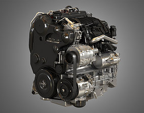 S60 T6 Drive - E 4 Cylinder Turbocharged Diesel 3D model