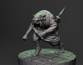 Nezumi Ninja three 3D printable model