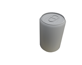 Soda Can 3D asset realtime
