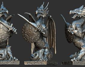 3D Fantasy dragon model