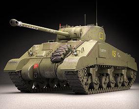 Sherman Firefly 3D model