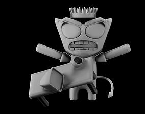 3D asset Demon Rage