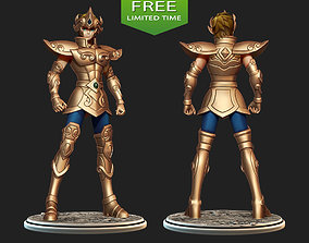 Saint Seiya Aiolia Leo 3D print model figurines