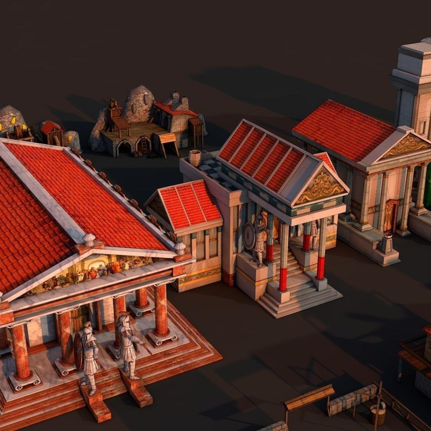 Rome city | CGTrader