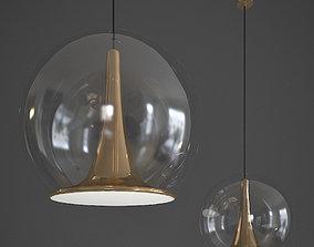 3D Trumpet Hanging Lamp Bosa