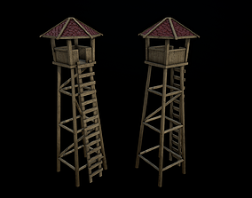 Observation Tower 3D asset